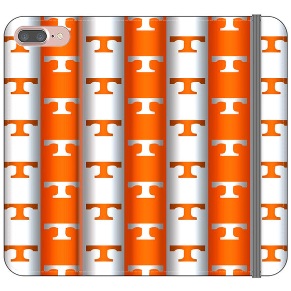 University Of Tennessee Vols Line iPhone 8 Plus Flip Case | Frostedcase