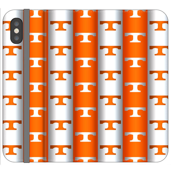 University Of Tennessee Vols Line iPhone X Flip Case | Frostedcase