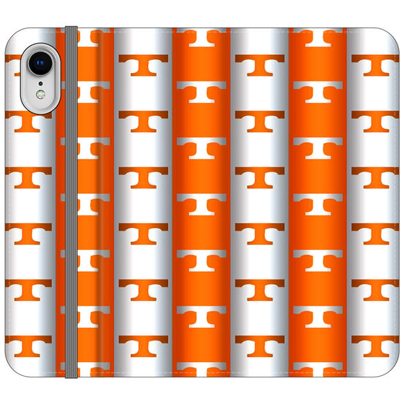 University Of Tennessee Vols Line iPhone XR Flip Case | Frostedcase