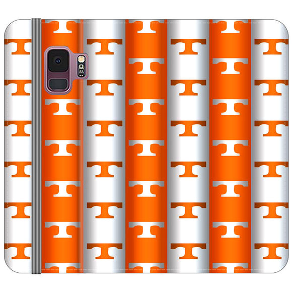 University Of Tennessee Vols Line Samsung Galaxy S9 Flip Case | Frostedcase
