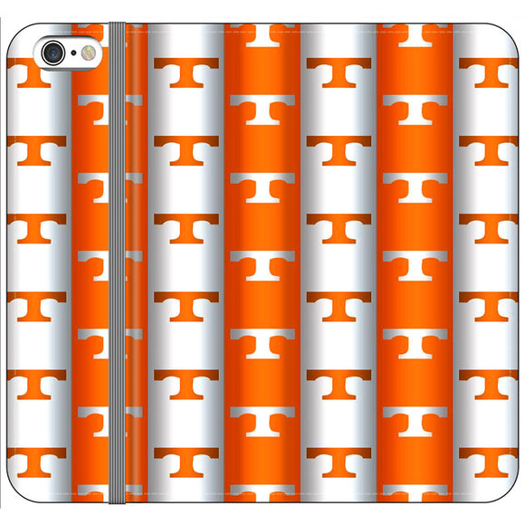 University Of Tennessee Vols Line iPhone 6 Plus|6S Plus Flip Case | Frostedcase