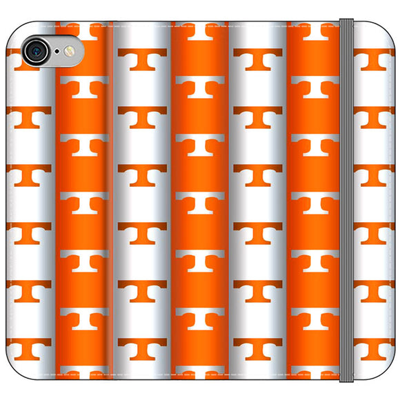 University Of Tennessee Vols Line iPhone 8 Flip Case | Frostedcase
