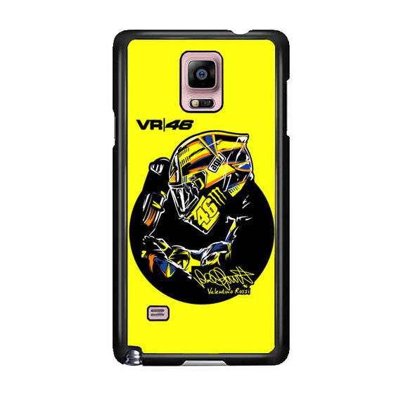 Valentino Rossi Vr46 Samsung Galaxy Note 4 Case | Frostedcase
