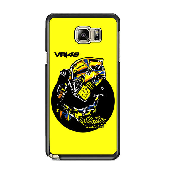 Valentino Rossi Vr46 Samsung Galaxy Note 5 Case | Frostedcase