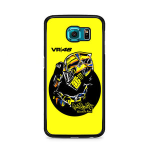 Valentino Rossi Vr46 Samsung Galaxy S6 Case | Frostedcase