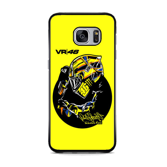 Valentino Rossi Vr46 Samsung Galaxy S7 Case | Frostedcase