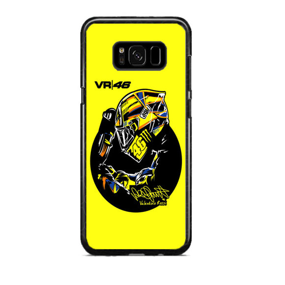 Valentino Rossi Vr46 Samsung Galaxy S8 Plus Case | Frostedcase