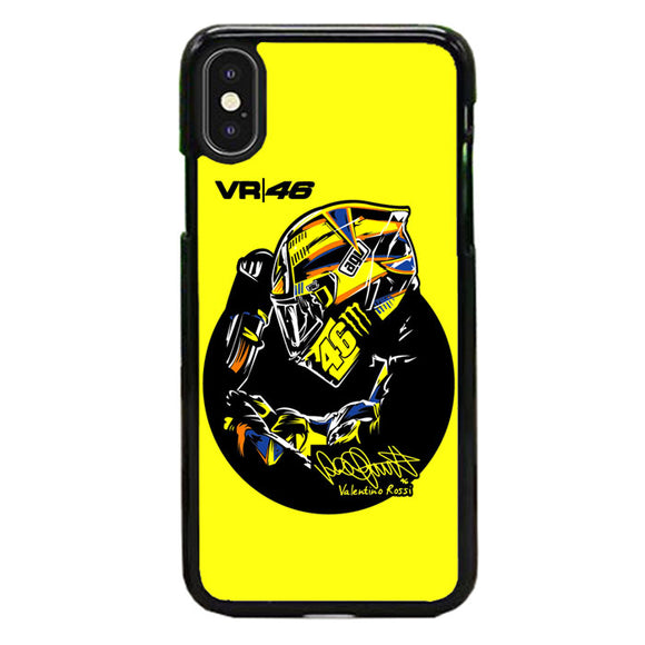 Valentino Rossi Vr46 iPhone X Case | Frostedcase