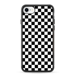 the best attitude 721fc f578a Vans Black And White Squares iPhone 8 Case | Frostedcase