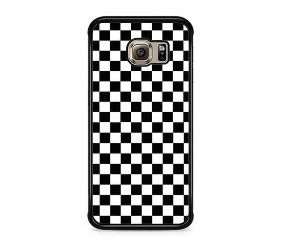 Vans Black And White Squares Samsung Galaxy S6 EDGE Case | Frostedcase