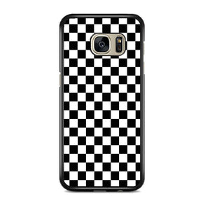 Vans Black And White Squares Samsung Galaxy S7 EDGE Case | Frostedcase