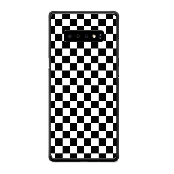 Vans Black And White Squares Samsung Galaxy S10 Case | Frostedcase