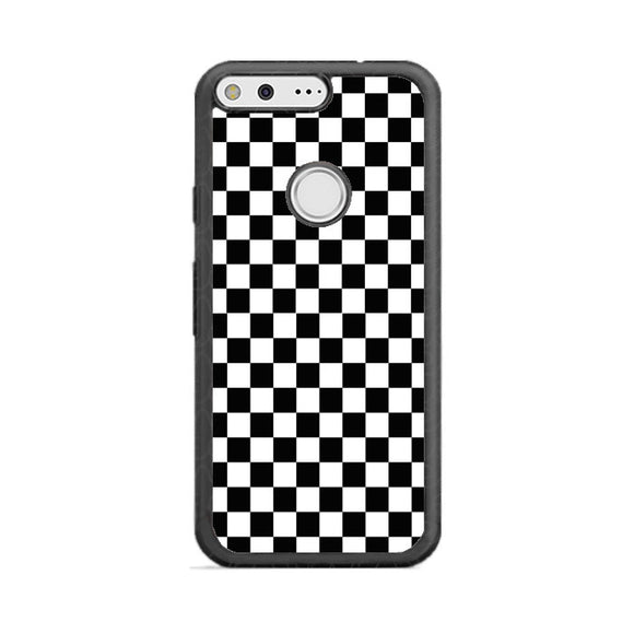 Vans Black And White Squares Google Pixel Case | Frostedcase