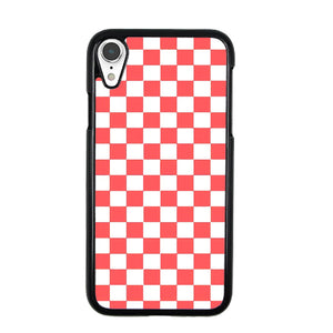 premium selection 7ed02 cfd8d Vans Pink And White Squares iPhone XR Case | Frostedcase