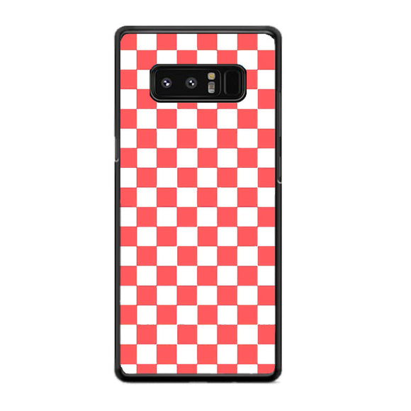 Vans Pink And White Squares Samsung Galaxy Note 8 Case | Frostedcase
