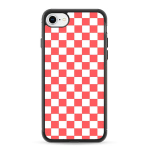 Vans Pink And White Squares iPhone 8 Case | Frostedcase