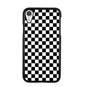 reputable site be4b7 8b58f Vans Black And White Squares iPhone XR Case | Frostedcase