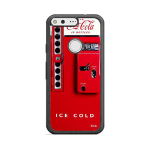 Vendo 81 Coca Cola Machine Ice Cold Google Pixel Case | Frostedcase