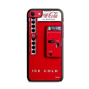 Vendo 81 Coca Cola Machine Ice Cold iPhone SE Case | Frostedcase
