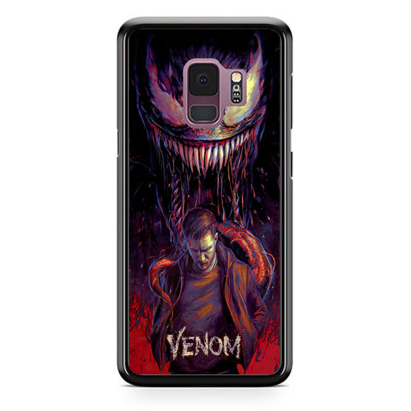 Venom Red Poster Samsung Galaxy S9 Case | Frostedcase