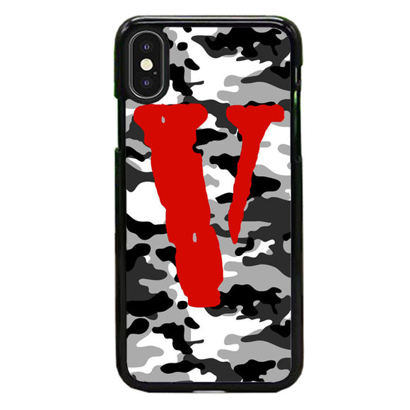 Vlone Camo Ash iPhone X Case | Frostedcase
