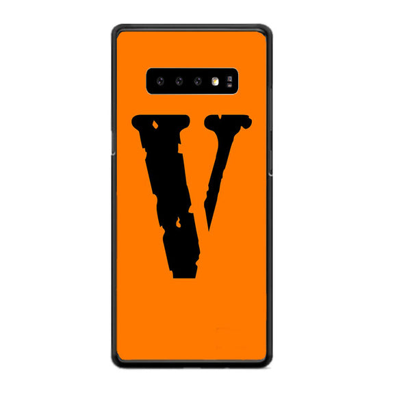Vlone Orange Hype Samsung Galaxy S10 Case | Frostedcase