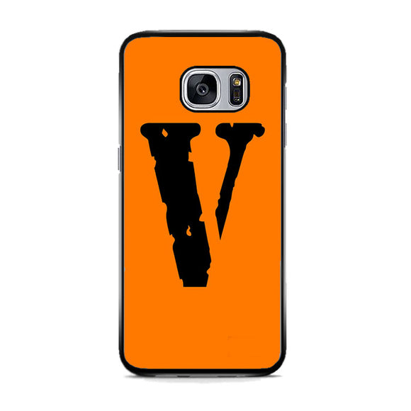 Vlone Orange Hype Samsung Galaxy S7 Case | Frostedcase
