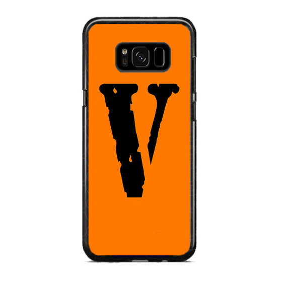 Vlone Orange Hype Samsung Galaxy S8 Plus Case | Frostedcase