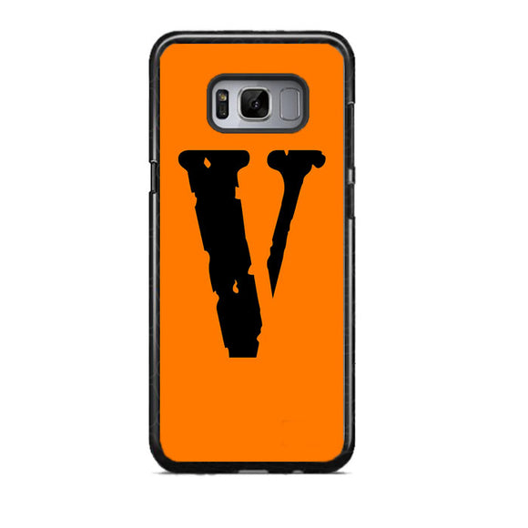 Vlone Orange Hype Samsung Galaxy S8 Case | Frostedcase