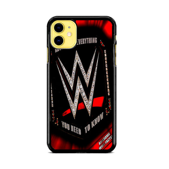 Wwe Belt Diamond iPhone 11 Case | Frostedcase