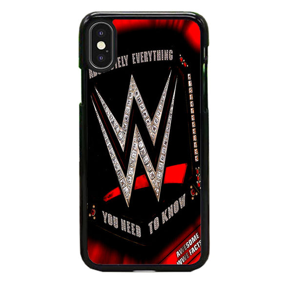 Wwe Belt Diamond iPhone XS Case | Frostedcase