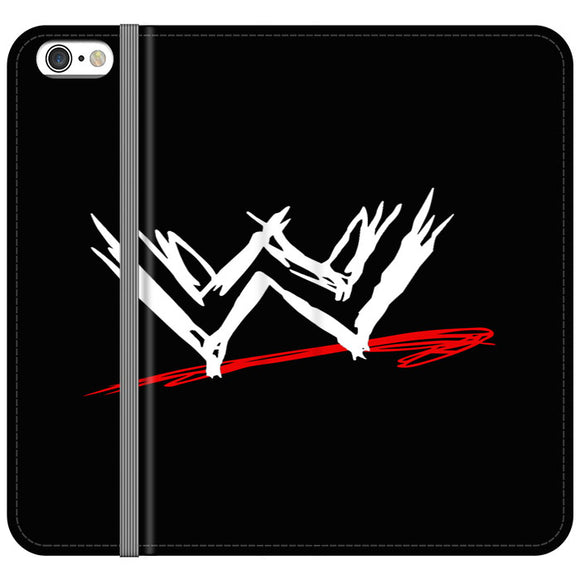 Wwe Logo iPhone 6 Plus|6S Plus Flip Case | Frostedcase