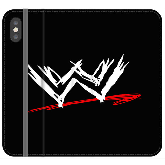 Wwe Logo iPhone XS Max Flip Case | Frostedcase