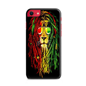 Warrior Lion Rasta Bob Marley iPhone SE Case | Frostedcase