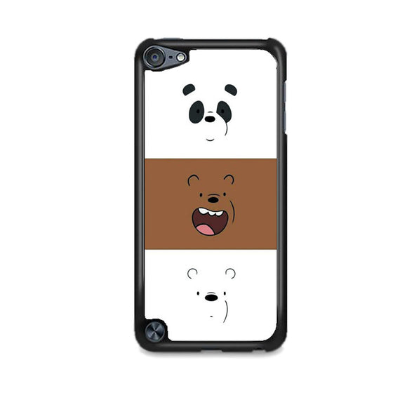 We Bare Bear Face Line iPod 5 Case | Frostedcase