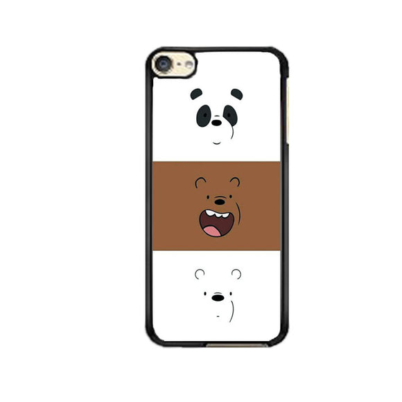We Bare Bear Face Line iPod 6 Case | Frostedcase