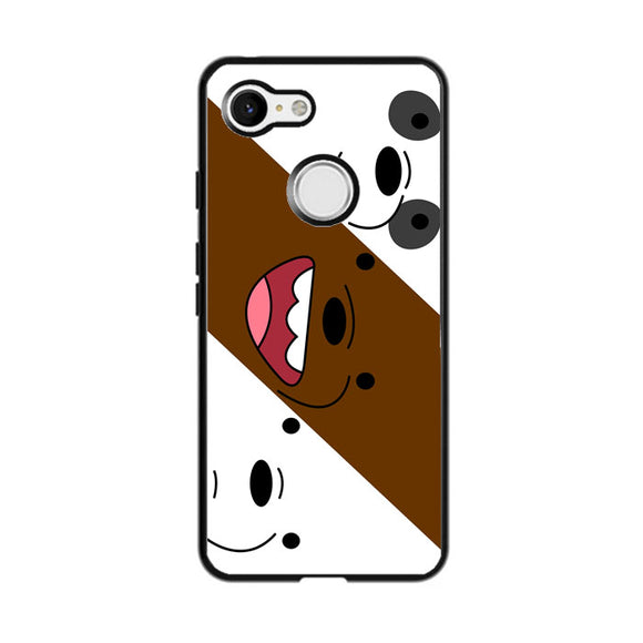 We Bare Bear Google Pixel 3 Case | Frostedcase
