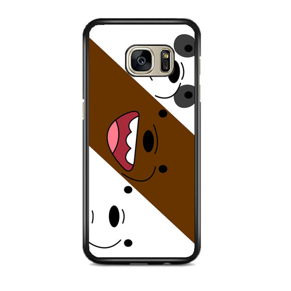 We Bare Bear Samsung Galaxy S7 EDGE Case | Frostedcase
