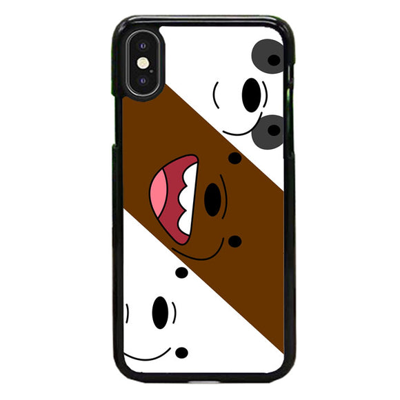 We Bare Bear iPhone XS Case | Frostedcase