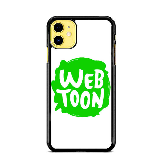 Web Toon Emblem iPhone 11 Case | Frostedcase