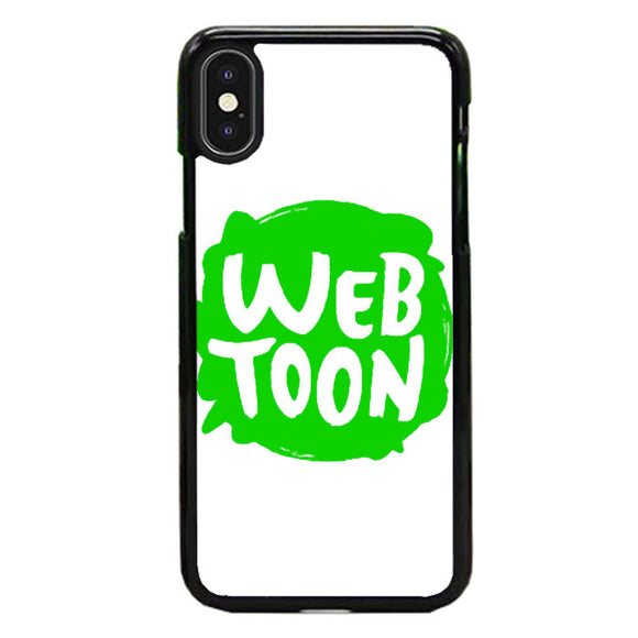 Web Toon Emblem iPhone XS Case | Frostedcase