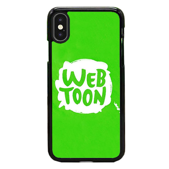 Webtoon Green Emblem iPhone XS Case | Frostedcase