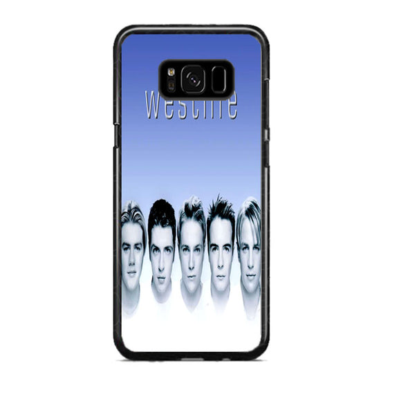 Westlife Cover Songs Flying Without Wings Samsung Galaxy S8 Plus Case | Frostedcase