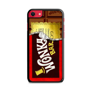 Willy Wonka Chocolate Golden Ticket iPhone SE Case | Frostedcase