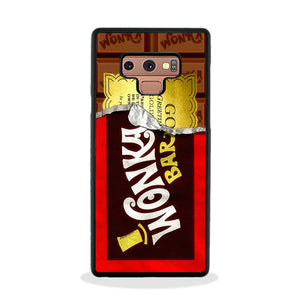 Willy Wonka Chocolate Golden Ticket Samsung Galaxy Note 9 Case | Frostedcase