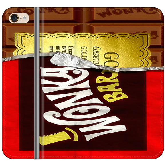 Willy Wonka Chocolate Golden Ticket iPod 5 Flip Case | Frostedcase