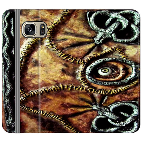 Winifred Sanderson Hocus Pocus Book Samsung Galaxy S7 EDGE Flip Case | Frostedcase