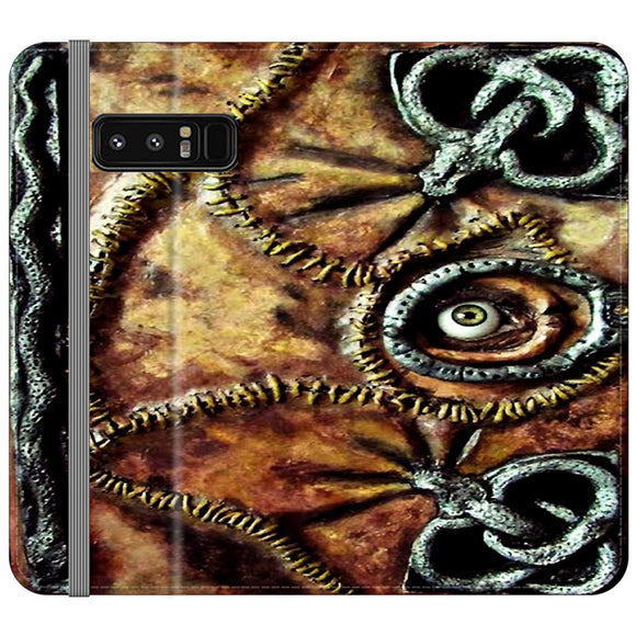 Winifred Sanderson Hocus Pocus Book Samsung Galaxy Note 8 Flip Case | Frostedcase