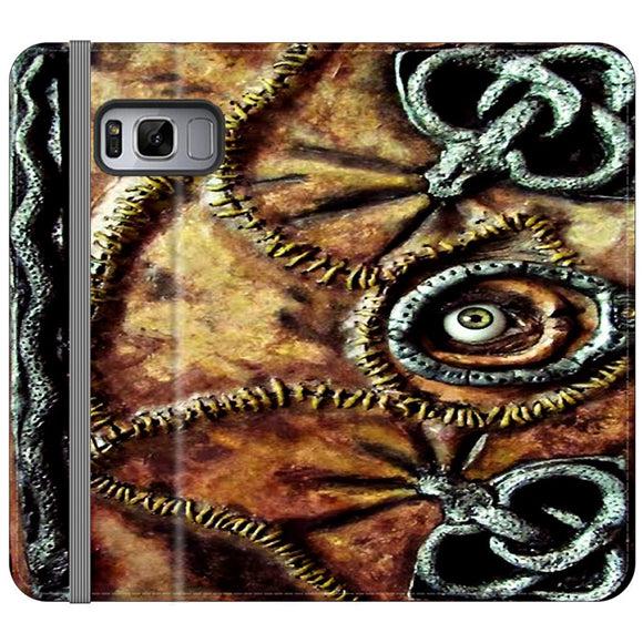 Winifred Sanderson Hocus Pocus Book Samsung Galaxy S8 Flip Case | Frostedcase