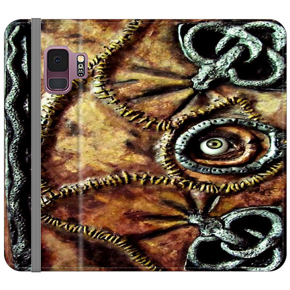 Winifred Sanderson Hocus Pocus Book Samsung Galaxy S9 Flip Case | Frostedcase